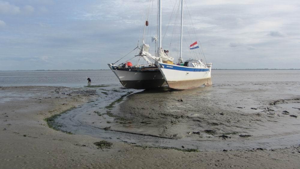 vaarbewijs catamaran varen op de wadden
